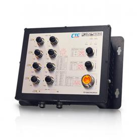 ITP-G802SM Series: IP67, 8x GbE M12 + 2x GbE M12