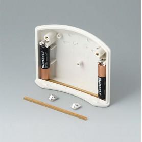 B7100002 / Set de clips de batería, 2 x AAA