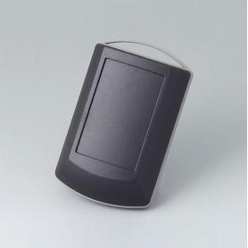 B7040219 / ERGO-CASE XS - ABS (UL 94 HB) - black RAL 9005 - 82x56x24mm - IP 42
