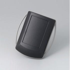 B7040229 / ERGO-CASE XS - ABS (UL 94 HB) - black RAL 9005 - 82x56x24mm - IP 42