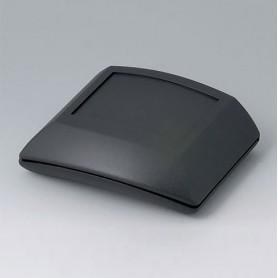 B7000109 / ERGO-CASE S, plana - ABS (UL 94 HB) - black RAL 9005 - 80x96x32mm - IP 54 opt.
