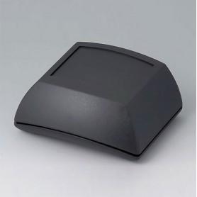B7005109 / ERGO-CASE S, alta - ABS (UL 94 HB) - black RAL 9005 - 80x96x44mm - IP 54 opt.