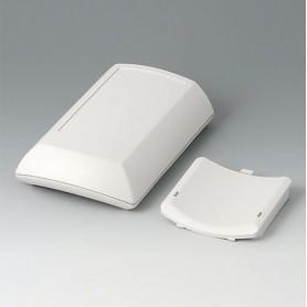 B7010107 / ERGO-CASE M, plana - ABS (UL 94 HB) - off-white RAL 9002 - 150x100x40mm - IP 54 opt.