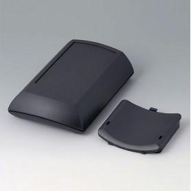 B7010109 / ERGO-CASE M, plana - ABS (UL 94 HB) - black RAL 9005 - 150x100x40mm - IP 54 opt.