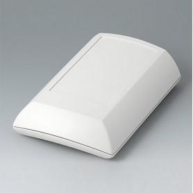 B7010207 / ERGO-CASE M, plana - ABS (UL 94 HB) - off-white RAL 9002 - 150x100x40mm - IP 54 opt.