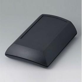 B7010209 / ERGO-CASE M, plana - ABS (UL 94 HB) - black RAL 9005 - 150x100x40mm - IP 54 opt.