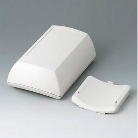 B7015107 / ERGO-CASE M, alta - ABS (UL 94 HB) - off-white RAL 9002 - 150x100x55mm - IP 54 opt.