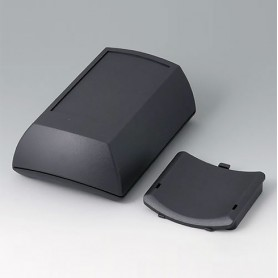 B7015109 / ERGO-CASE M, alta - ABS (UL 94 HB) - black RAL 9005 - 150x100x55mm - IP 54 opt.