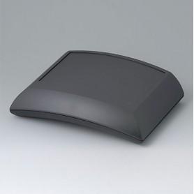 B7020209 / ERGO-CASE L, plana - ABS (UL 94 HB) - black RAL 9005 - 150x200x54mm - IP 54 opt.