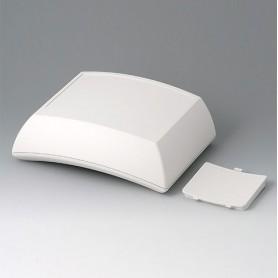B7025107 / ERGO-CASE L, alta - ABS (UL 94 HB) - off-white RAL 9002 - 150x200x69mm - IP 54 opt.