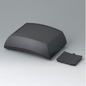 B7025109 / ERGO-CASE L, alta - ABS (UL 94 HB) - black RAL 9005 - 150x200x69mmIP 54 opt.