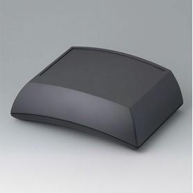 B7025209 / ERGO-CASE L, alta - ABS (UL 94 HB) - black RAL 9005 - 150x200x69mm - IP 54 opt.