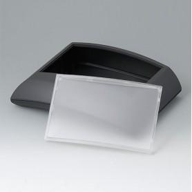 B7020149 / ERGO-CASE L, plana - ABS (UL 94 HB) - black RAL 9005 - 150x200x54mm - IP 40
