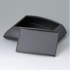 B7020239 / ERGO-CASE L, plana - ABS (UL 94 HB) - black RAL 9005 - 150x200x54mm - IP 40