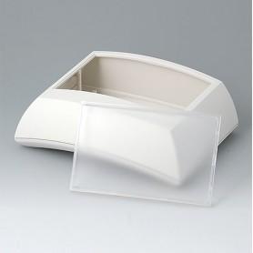 B7025147 / ERGO-CASE L, alta - ABS (UL 94 HB) - off-white RAL 9002 - 150x200x69mm - IP 40