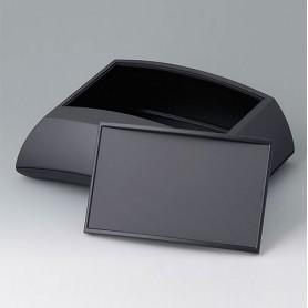 B7025239 / ERGO-CASE L, alta - ABS (UL 94 HB) - black RAL 9005 - 150x200x69mm - IP 40