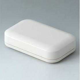 A9421107 / EVOTEC 100, Vers. I - ASA+PC-FR (UL 94 V-0) - off-white RAL 9002 - 100x62x26mm - IP 65 opt., IP 40