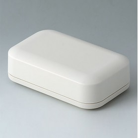 A9423107 / EVOTEC 100, Vers. I - ASA+PC-FR (UL 94 V-0) - off-white RAL 9002 - 100x62x31mm - IP 65 opt., IP 40