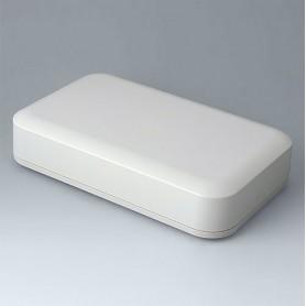 A9481107 / EVOTEC 250, Vers. I - ASA+PC-FR (UL 94 V-0) - off-white RAL 9002 - 250x155x54mm - IP 65 opt., IP 40