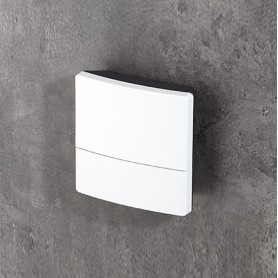 B3214201 / NET-BOX 140, Vers. II - ASA+PC-FR (UL 94 V-0) - light grey RAL 7035 - 140x140x46,5mm - IP 65 opt.