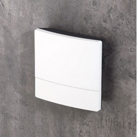 B3218201 / NET-BOX 180, Vers. II - ASA+PC-FR (UL 94 V-0) - light grey RAL 7035 - 180x180x48,5mm - IP 65 opt.