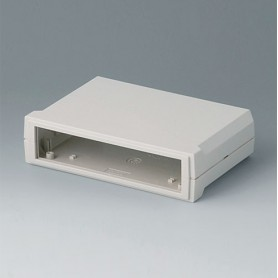 B3015117 / MOTEC S, plano/plano - ABS (UL 94 HB) - off-white RAL 9002 - 155x105x40mm - IP 40