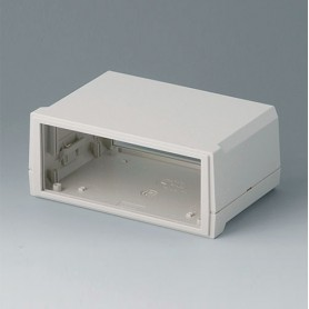 B3015127 / MOTEC S, plano/alto - ABS (UL 94 HB) - off-white RAL 9002 - 155x105x65mm - IP 40