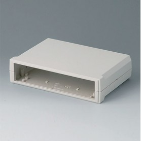 B3020117 / MOTEC M, plano/plano - ABS (UL 94 HB) - off-white RAL 9002 - 205x140x50mm - IP 40