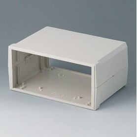 B3023137 / MOTEC L, alto/alto - ABS (UL 94 HB) - off-white RAL 9002 - 235x165x110mm - IP 40