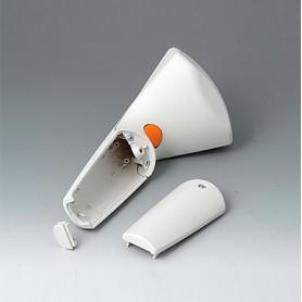 A9056207 / SENSO-CASE M - ABS (UL 94 HB) - off-white RAL 9002 - 180x86x45mm - IP 41
