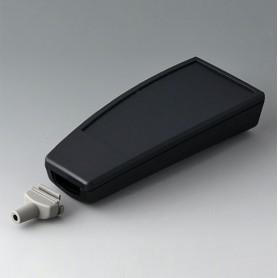 A9067129 / SMART-CASE L, Vers. III - ABS (UL 94 HB) - black RAL 9005 - 140x62,7x30,5mm - IP 65 opt., IP 40
