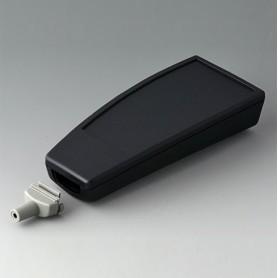 A9067139 / SMART-CASE L, Vers. IV - ABS (UL 94 HB) - black RAL 9005 - 140x62,7x30,5mm - IP 65 opt., IP 40