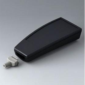 A9067149 / SMART-CASE L, Vers. V - ABS (UL 94 HB) - black RAL 9005 - 140x62,7x30,5mm - IP 65 opt., IP 40
