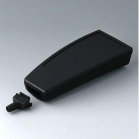 A9067339 / SMART-CASE L, Vers. IV - ABS (UL 94 HB) - black RAL 9005 - 140x62,7x30,5mm - IP 65 opt., IP 40