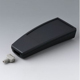 A9068139 / SMART-CASE XL, Vers. IV - ABS (UL 94 HB) - black RAL 9005 - 168x74,4x35,4mm - IP 65 opt., IP 40