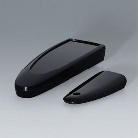 B2802016 / STYLE-CASE S - PMMA (IR) (UL 94 HB) - black RAL 9005 - 123x48x24mm - IP 40