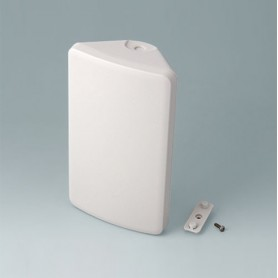 B4610107 / SMART-CONTROL M, Vers. I - ASA+PC-FR (UL 94 V-0) - off-white RAL 9002 - 173x101x59mm - IP 55 opt., IP 40