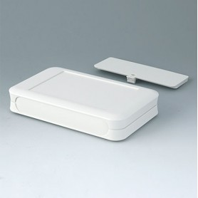 A9053117 / SOFT-CASE XL - ABS (UL 94 HB) - off-white RAL 9002 - 92x150x28mm - IP 40