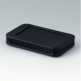 A9050209 / SOFT-CASE S - PMMA (IR) (UL 94 HB) - black RAL 9005 - 51x82x14mm - IP 54 opt., IP 40