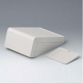 B4056337 / UNITEC M, 0.6/1.4 - ABS (UL 94 HB) - off-white RAL 9002 - 148x210x80mm - IP 40