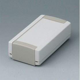 B1040365 / TOPTEC 102, Vers. I - ABS (UL 94 HB) - off-white RAL 9002 - 102x54x30mm - IP 40