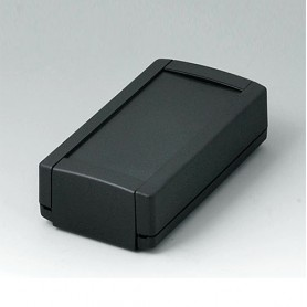B1040369 / TOPTEC 102, Vers. I - ABS (UL 94 HB) - black RAL 9005 - 102x54x30mm - IP 40