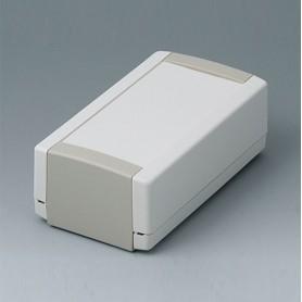 B1050365 / TOPTEC 123 H, Vers. I - ABS (UL 94 HB) - off-white RAL 9002 - 123x68x45mm - IP 40