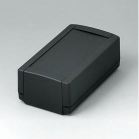 B1050369 / TOPTEC 123 H, Vers. I - ABS (UL 94 HB) - black RAL 9005 - 123x68x45mm - IP 40