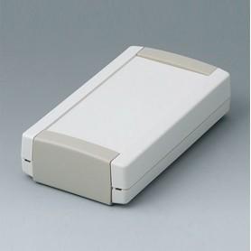 B1055365 / TOPTEC 123 F, Vers. I - ABS (UL 94 HB) - off-white RAL 9002 - 123x68x30mm - IP 40