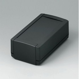 B1060369 / TOPTEC 154 H, Vers. I - ABS (UL 94 HB) - black RAL 9005 - 154x84x56mm - IP 40