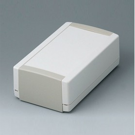 B1070365 / TOPTEC 194 H, Vers. I - ABS (UL 94 HB) - off-white RAL 9002 - 194x115x68mm - IP 40