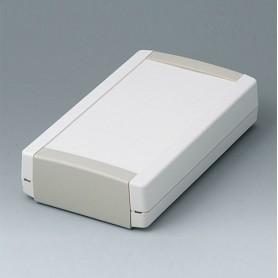 B1075365 / TOPTEC 194 F, Vers. I - ABS (UL 94 HB) - off-white RAL 9002 - 194x115x46mm - IP 40