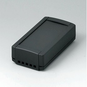 B1040469 / TOPTEC 102, Vers. II - ABS (UL 94 HB) - black RAL 9005 - 102x54x30mm - IP 40
