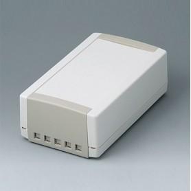 B1070465 / TOPTEC 194 H, Vers. II - ABS (UL 94 HB) - off-white RAL 9002 - 194x115x68mm - IP 40